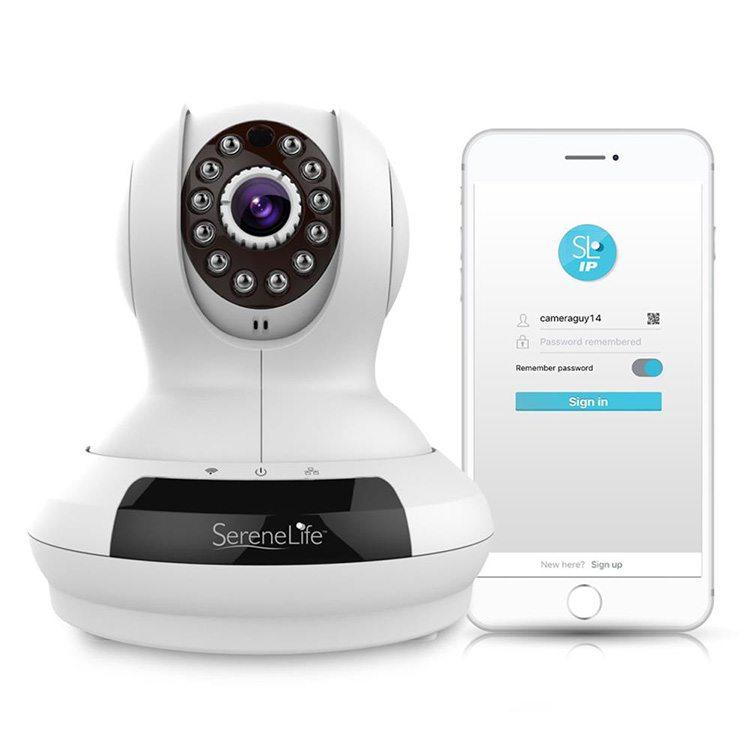 מצלמת אבטחה IP אלחוטית ממונעת